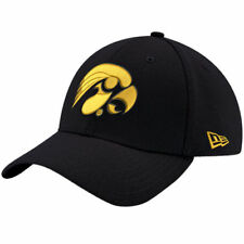 Iowa Hawkeyes New Era Relaxed 49FORTY Fitted Hat - Black - NCAA