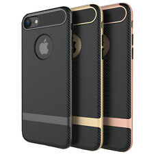 Hot 2 in 1 Hard Matte Anti-drop Cover Phone Case Shell Strip For iphone7/7Plus C