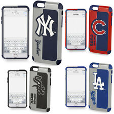iPhone 7 Case Official MLB Heavy Duty Shockproof Armor Fan Cover, Tempered Glass