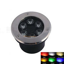 6W LED Bulb SpotLight Outdoor In-ground Garden Flood Light Lamp Waterproof IP67