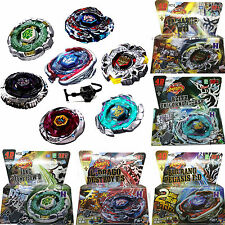 Rare Beyblade Fusion Top Metal Fight Master 4D Rapidity Launcher Set Kids Toys