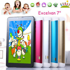 7'' INCH KIDS CHILD CHILDREN ANDROID 8GB TABLET PC DUAL CAMERA QUAD CORE WIFI UK