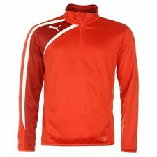 Puma Mens Spirit Jacket Mock Neck Warm Sports Running Training Half Zip Top
