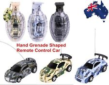 Super Mini Remote Control Car High Speed Hand Grenade Shaped Shell Toy Gift NewU