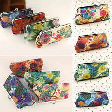 Women Girl Fashion Clutch Long Handbag Lady Card Coin Holders Wallet Coin Purse
