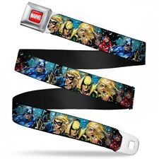 Marvel Comics Comic Book Superheroes United Seatbelt Belt
