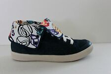 Coach Erikka Womens Blue Denim & Leather Fashion Sneaker Shoe Size 9 M