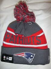 NEW 2016 NEW ENGLAND PATRIOTS REFLECTIVE TEAM BEANIE KNIT CAP HAT VERY RARE!