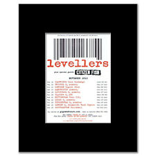 LEVELLERS - UK Tour November 2012 Matted Mini Poster