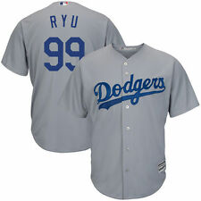 Hyun-Jin Ryu Majestic Los Angeles Dodgers Baseball Jersey - MLB