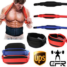 Lumber Protect Weight Lifting Belt Training Back Support Gym Powerlifting Strap