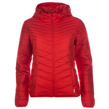 Womens Only Dorit Quilted Hooded Jacket In Red From Get The Label