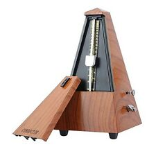 Conductor Mechanical Metronome Audible Click & Bell Ring Pyramid Style for