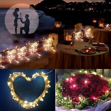 10/15/20m LED Solar Fairy String Light Outdoor Wedding Christmas Party Lamp PEG