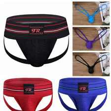 Men Athletic Supporter Jock Strap Sports Underwear Backless Boxers Briefs Shorts