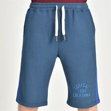 SoulCal Mens Greenwood Jersey Shorts Chino Pants Trousers Bottoms Fleece Lining