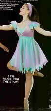 LYRICAL DANCE COSTUME BALLET SKATE ARTSTONE REACH FOR THE STARS