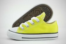 Converse Chuck Taylor All Star OX 755735F Fresh Yellow Canvas Shoes Toddler