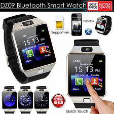 DZ09 Bluetooth Smart Watch Phone SIM Card For Android/IOS HTC Samsung Sony