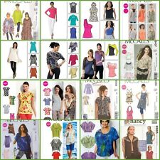 OOP McCalls Sewing Pattern Tops Misses Plus Size You Pick