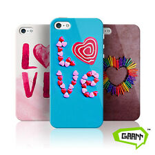 Love Hearts Protective Hard Shell Snap on iPhone 5 Case 5s Cover