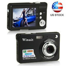 "HD 720P 2.7"" TFT LCD Digital Camera Video Camcorder 18MP 8x Zoom CMOS Anti-Shake"