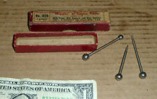 Vintage Starrett No.828 Center Finders,Wiggler,Old Machinist Tool,3 items in box