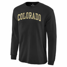 Colorado Buffaloes Basic Arch Long Sleeve T-Shirt - Black - NCAA