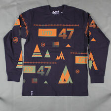 Lifted Research Group - LRG - The Lifted 47 Long Sleeve Tee in Purple Sz L - LRG