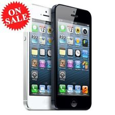 Apple iPhone 5 - 4S - Black or White - Unlocked To All Networks Smartphone UK+++