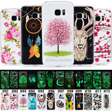 Noctilucent IMD TPU Silicone Rubber Soft Skin Cute Case Cover For Samsung Phone
