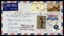 1978 Australia airmail multifranked cover to Boulder Colorado US