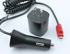 OEM Verizon Quick Charge 2.0 Fast Wall Adapter+ Car Charger for Tablets & Phones