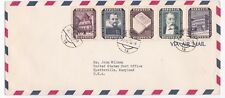 Austria 1955 Philatelic cover With Reconstruction Set Sc B281-B285