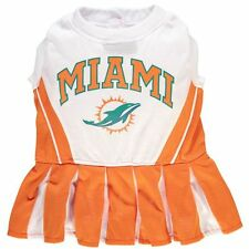 Miami Dolphins NFL Dog Pet Cheerleader Suit (all)