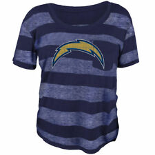 Los Angeles Chargers Juniors Bolder Burnout T-Shirt - Navy Blue - NFL