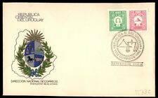 December 23, 1982 illustrated first day cover Uruguay Republic