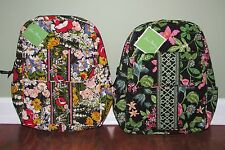 Vera Bradley BOTANICA or POPPY FIELDS Travel Purse Everyday BACKPACK - NWT
