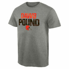 Cleveland Browns NFL Pro Line Mantra T-Shirt - Heathered Gray - NFL