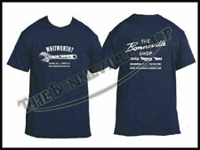 THE BONNEVILLE SHOP WHITWORTH T-SHIRT NAVY BLUE TRIUMPH NORTON BSA PN# TBS-9999
