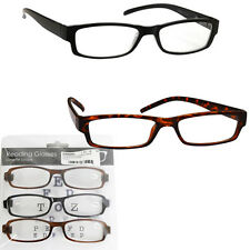 READING GLASSES WITH LIGHTWEIGHT MAGNIFY VISION UNISEX SPECTACLES UV READER NEW