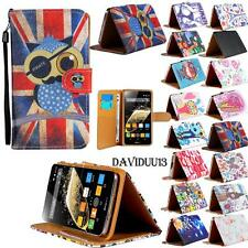 For Various NGM WeMove Mobile Phones - Stand Leather Wallet Card Flip Case Cover