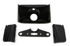 Replica Triple Tree Cover Kit Black,for Harley Davidson motorcycles,by V-Twin