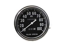 Speedometer 2:1 Police Special,for Harley Davidson motorcycles,by V-Twin
