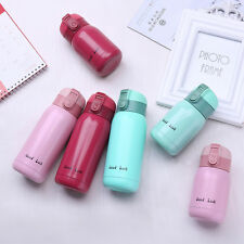 Mini Vacuum Mug Bounce Cap Thermos Coffee Hot Water Bottle Travel Cup For Kids