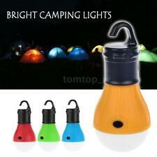 Outdoor Hanging 3 LED Camping Tent Light Bulb Fishing Lantern Lamp Potable