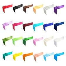 """12""""x108"""" Inch Satin Table Runners Wedding Party Banquet Decoration NEW"""