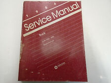 1984 Dodge Ramcharger DW 150 250 350 Service Shop Repair Manual Factory OEM Book