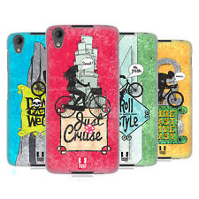 HEAD CASE DESIGNS BICYCLE LOVE HARD BACK CASE FOR BLACKBERRY DTEK50 / NEON