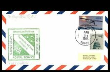 CHICAGO IL APR 11 1985 AA TO FAYETTEVILLE NC COVER